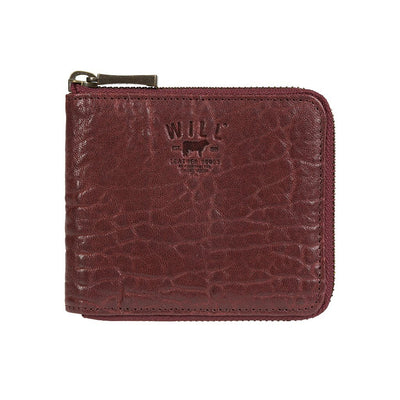 French Wallet Wallet WillLeatherGoods LAST CHANCE Wine