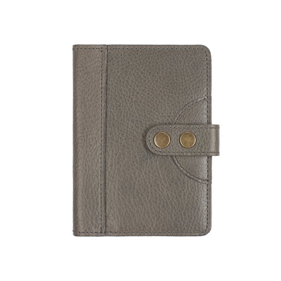 Signature Journal Cover Original Office WillLeatherGoods Grey Small