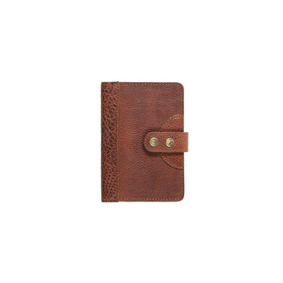 Leather Journal Cover Office WillLeatherGoods Small Cognac