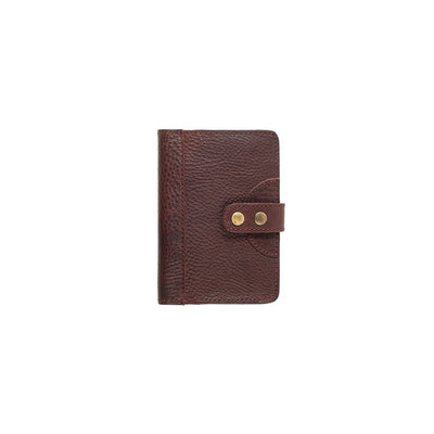 Leather Journal Cover Office WillLeatherGoods Small Oxblood