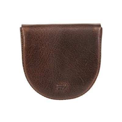 dark brown coin case