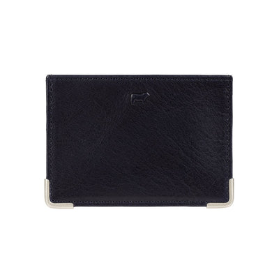 William Passcase Wallet WillLeatherGoods Navy