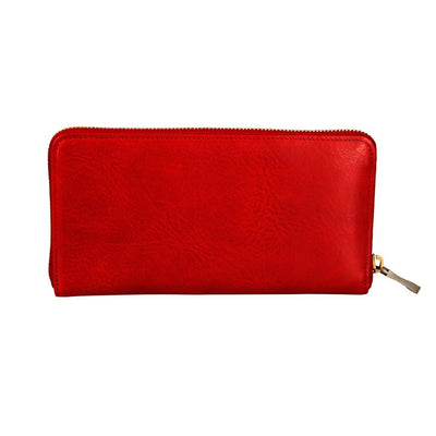 William Zip Around Clutch Wallet WillLeatherGoods