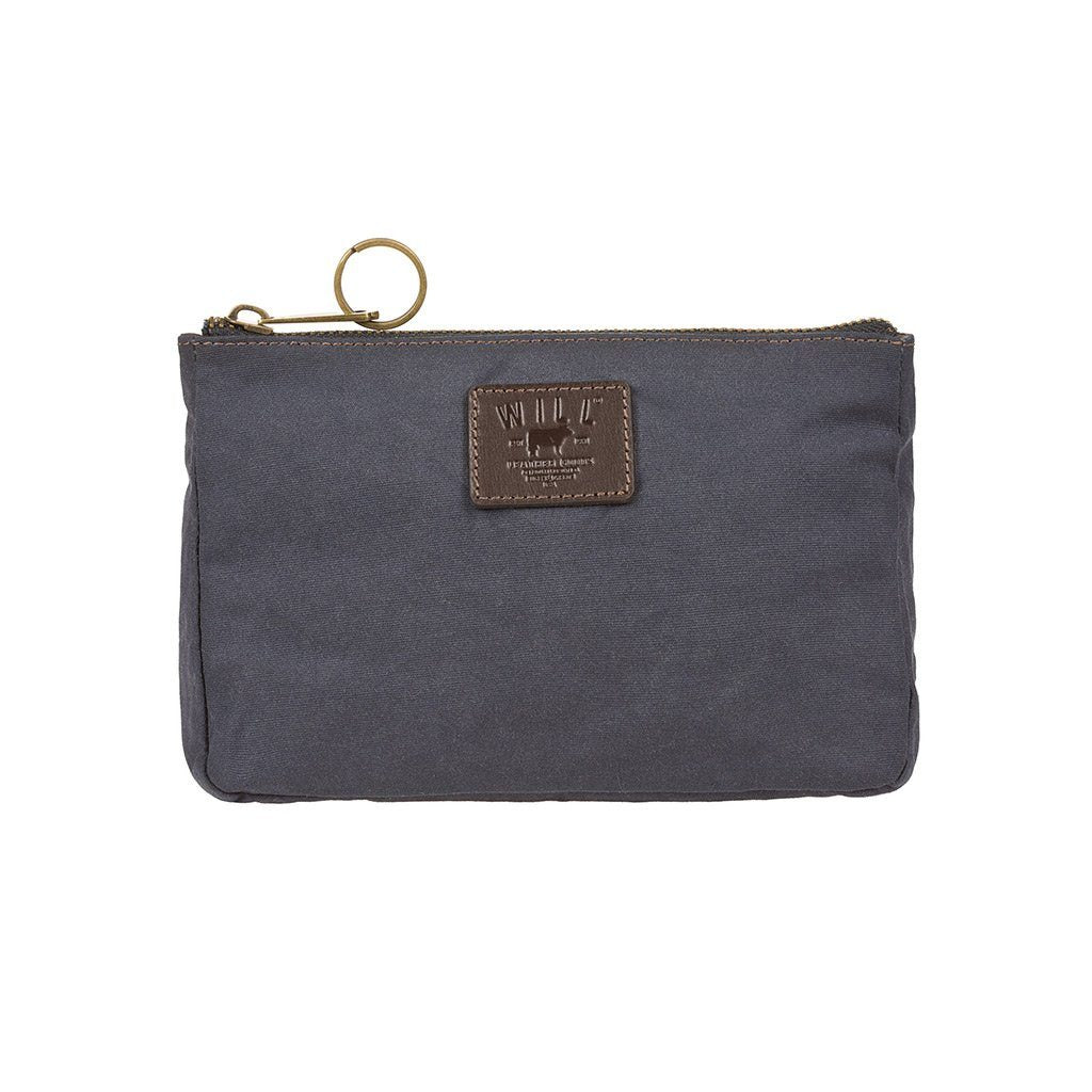 Navy Canvas Mt. Hood Large Gusseted Pouch