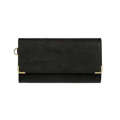 Accordion Wallet Black New