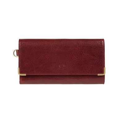 Accordion Wallet Wallet WillLeatherGoods Wine