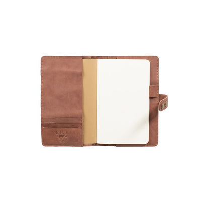 Italian Leather Journal Cover Office WillLeatherGoods