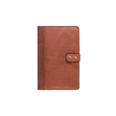 Leather Journal Cover Office WillLeatherGoods Medium Cognac
