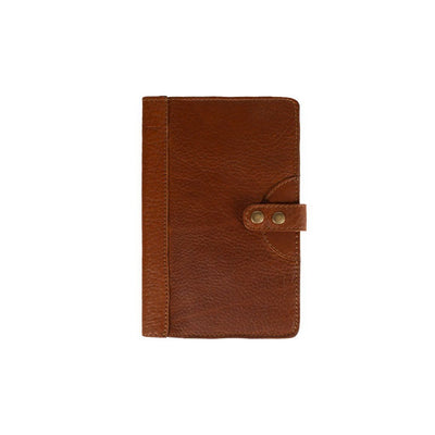 Bison Journals Office WillLeatherGoods Medium Tan Bison