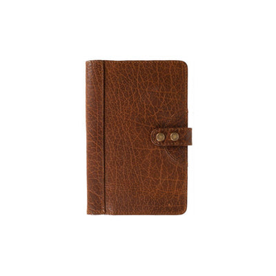 Bison Journals Office WillLeatherGoods Medium Cognac Bison