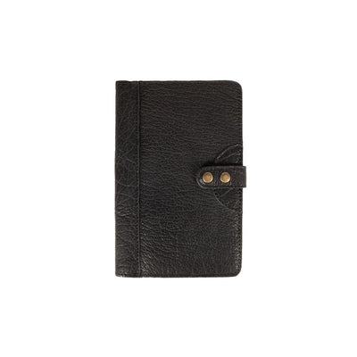Bison Journals Office WillLeatherGoods Medium Black Bison