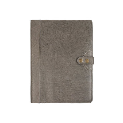 Signature Journal Cover Original Office WillLeatherGoods Grey Large