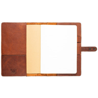 Leather Journal Cover Office WillLeatherGoods