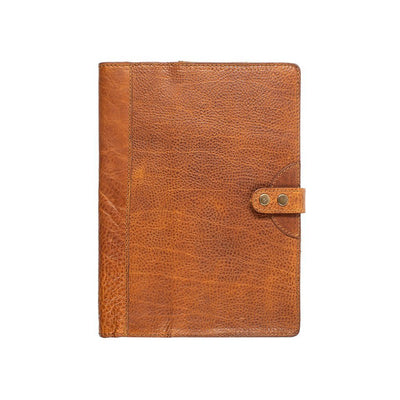 Leather Journal Cover Office WillLeatherGoods Large Tan