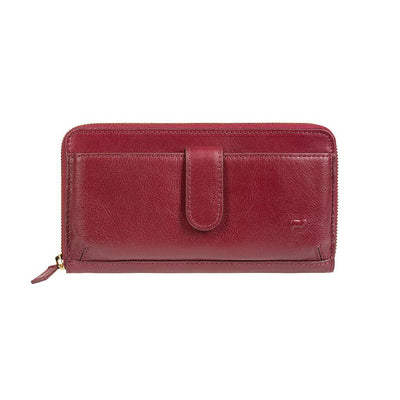 Classic Exterior Phone Wallet Red