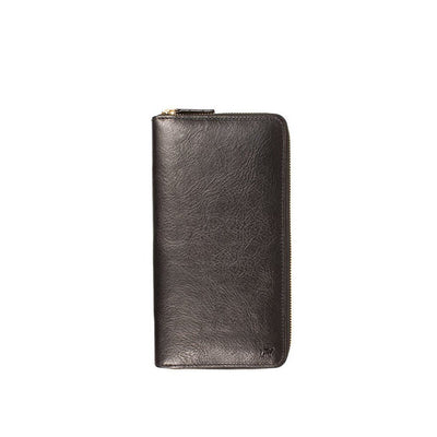 Classic Travel Wallet Wallet WillLeatherGoods Black