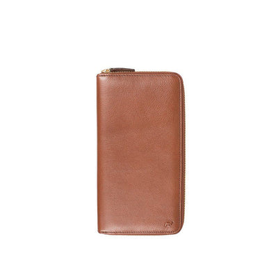 Classic Travel Wallet Wallet WillLeatherGoods Cognac
