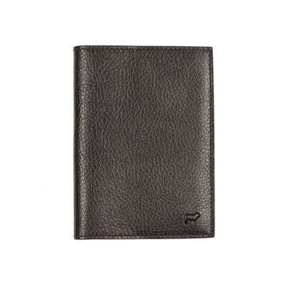 Classic Passport Case with Embossed Cow in Corner