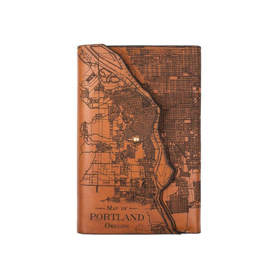 Refillable City Journals Office WillLeatherGoods Portland