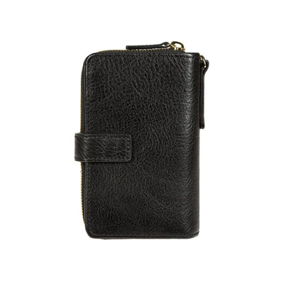 Classic French Wristlet Wallet WillLeatherGoods Black