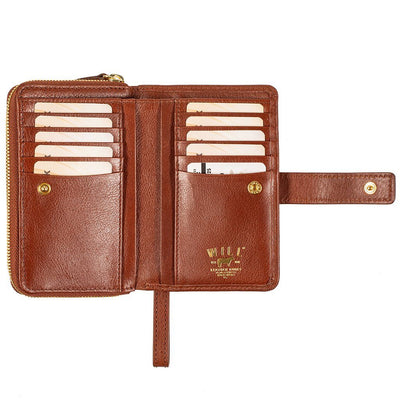 Classic French Wristlet Wallet WillLeatherGoods