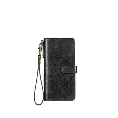 Classic Wristlet Clutch Wallet WillLeatherGoods Black