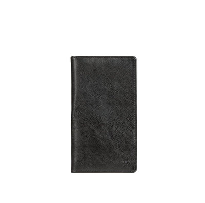 Classic Pocket Secretary Wallet WillLeatherGoods Black
