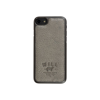 Leather Phone Case Grey