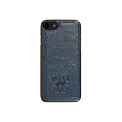 Leather Phone Case Tech WillLeatherGoods SALE Navy