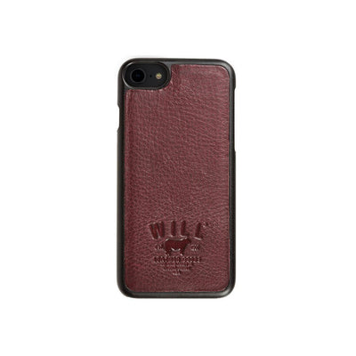 Leather Phone Case Tech WillLeatherGoods LAST CHANCE Oxblood
