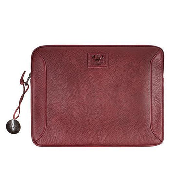 "13"" Leather Laptop Sleeve Office WillLeatherGoods 13"" Oxblood"