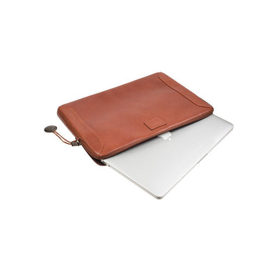 Macbook coming out of Zipper Compartment of Small Laptop Case