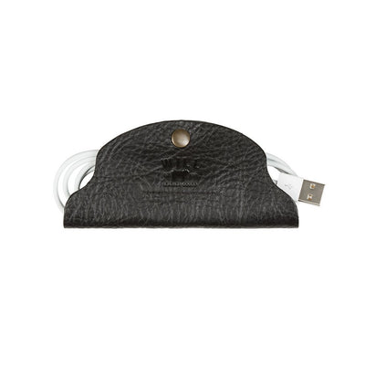 Large Cord Taco Tech WillLeatherGoods Black