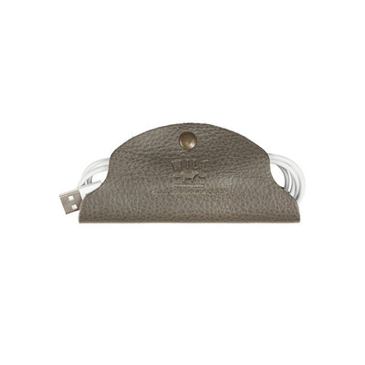 Large Cord Taco Tech WillLeatherGoods Grey