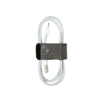 Cord Loop with Velcro Tech WillLeatherGoods Grey