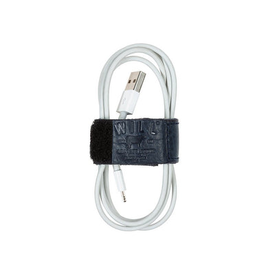 Cord Loop with Velcro Tech WillLeatherGoods Navy