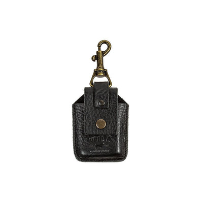 Zippo Lighter Holder Keychain WillLeatherGoods Black
