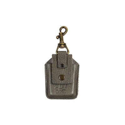Zippo Lighter Holder Keychain WillLeatherGoods Grey