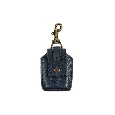 Zippo Lighter Holder Keychain WillLeatherGoods Navy