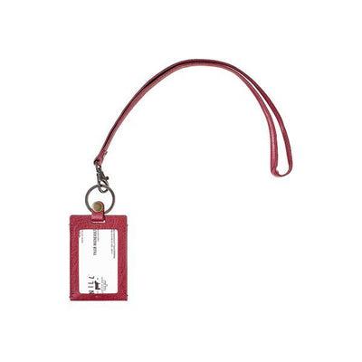 Classic Lanyard Keychain WillLeatherGoods Red