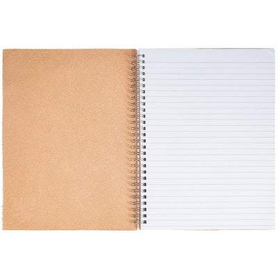 Leather Spiral Notebook Office WillLeatherGoods