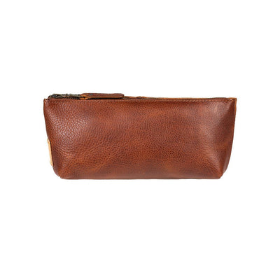 East West Pouch Pouch WillLeatherGoods Cognac
