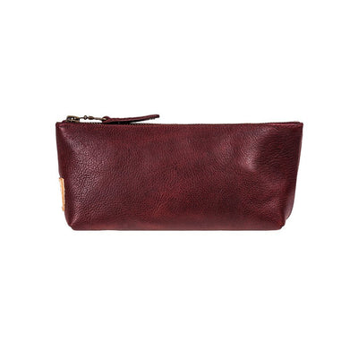 East West Pouch Pouch WillLeatherGoods Oxblood -- NEW!