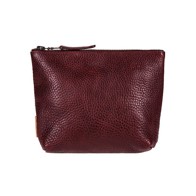 Seneca Square Pouch Pouch WillLeatherGoods Oxblood -- NEW!