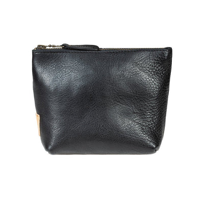 Seneca Square Pouch Pouch WillLeatherGoods Black
