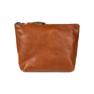 Seneca Square Pouch Pouch WillLeatherGoods Tan - NEW!