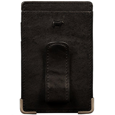 Front Pocket Wallet with Money Clip Wallet WillLeatherGoods
