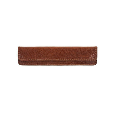Leather Comb Sleeve Home WillLeatherGoods Cognac
