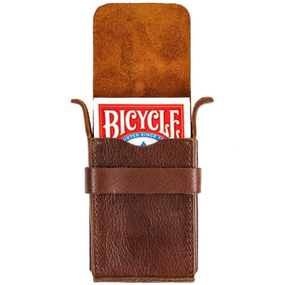 Leather Playing Card Case Home WillLeatherGoods