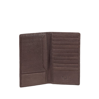 Bison Pocket Secretary Wallet WillLeatherGoods Brown